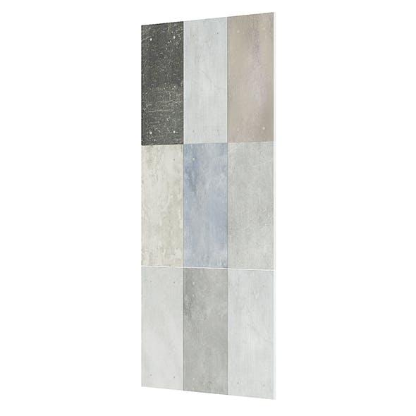 Metal Tiles 3D Model - 3DOcean Item for Sale