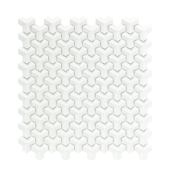 White Wall Panel 3D Model - 3DOcean Item for Sale