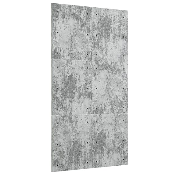 Concrete Tiles 3D Model - 3DOcean Item for Sale