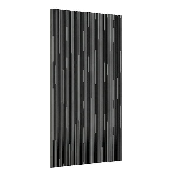 Black Wall Panel 3D Model - 3DOcean Item for Sale