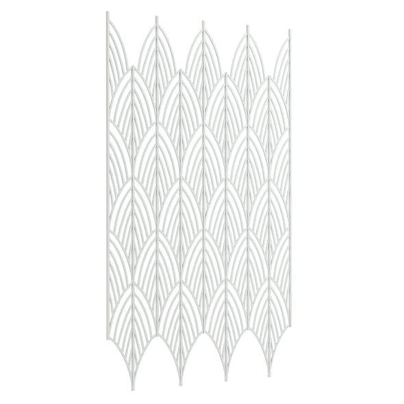 White Wall Frame 3D Model - 3DOcean Item for Sale