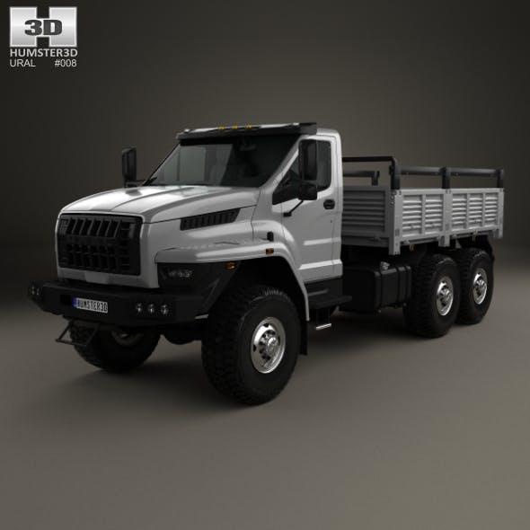 Ural Next Flatbed Truck 2016 - 3DOcean Item for Sale