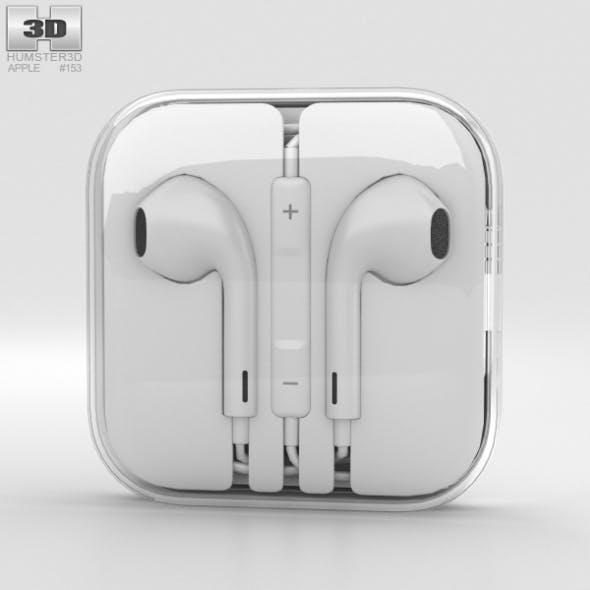 Apple EarPods - 3DOcean Item for Sale