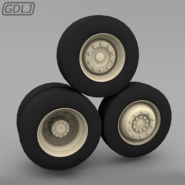 Wheel & Tire - Ready design 3d model