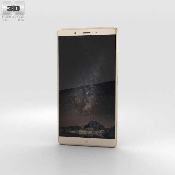 ZTE Nubia Z11 Max Gold - 3DOcean Item for Sale