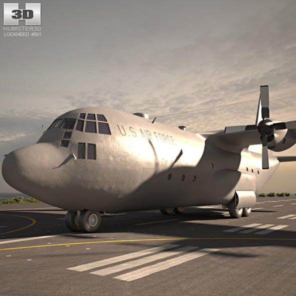 Lockheed C-130 Hercules - 3DOcean Item for Sale