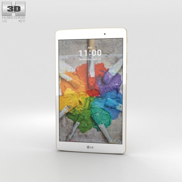 LG G Pad X 8.0 Gold - 3DOcean Item for Sale