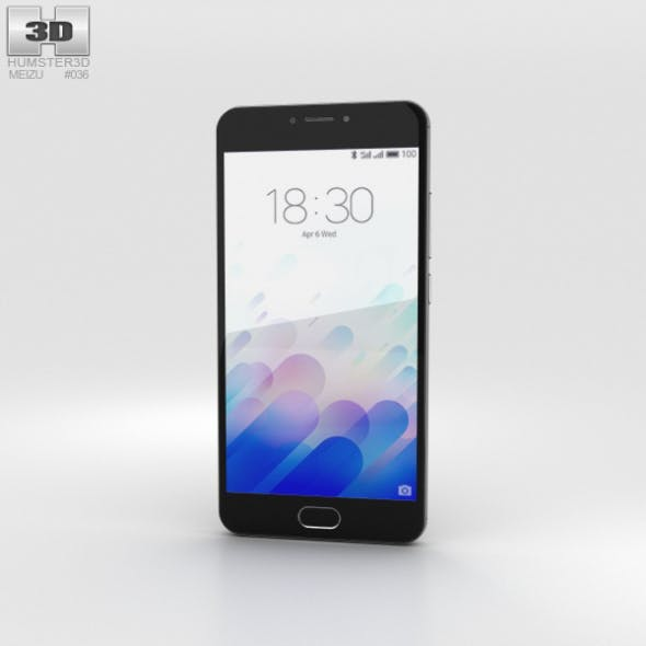 Meizu M3 Note Gray - 3DOcean Item for Sale