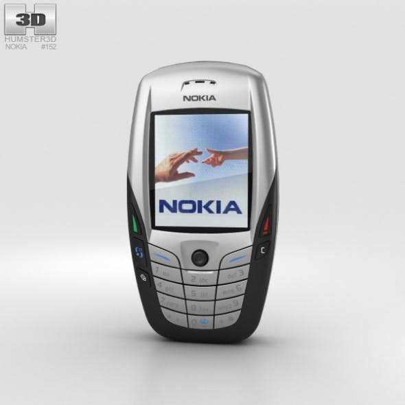 Nokia 6600 - 3DOcean Item for Sale