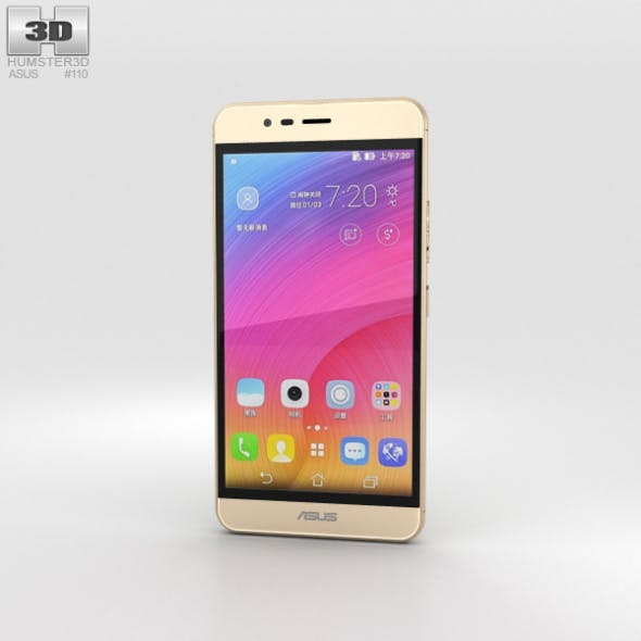 Asus Zenfone Pegasus 3 Gold - 3DOcean Item for Sale