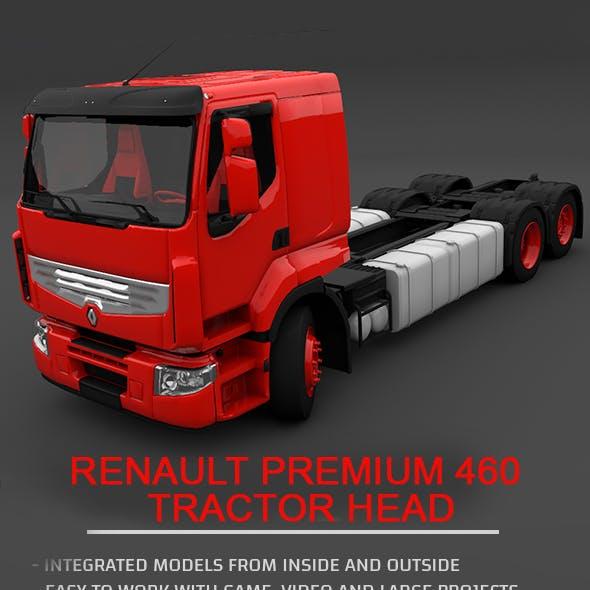 Renault Premium 460 Tractor Head - Full 3D Model