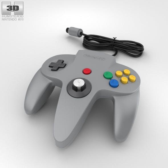 Nintendo 64 Controller - 3DOcean Item for Sale