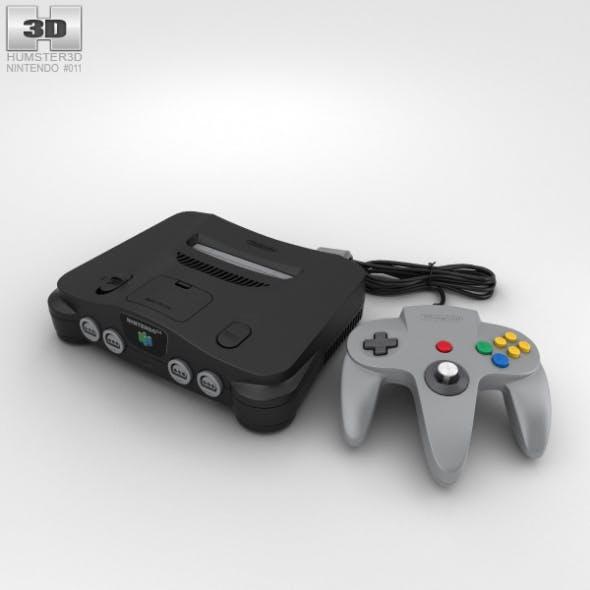 Nintendo 64 - 3DOcean Item for Sale