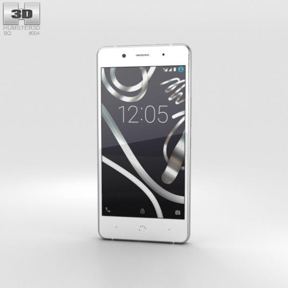 BQ Aquaris X5 Plus White - 3DOcean Item for Sale