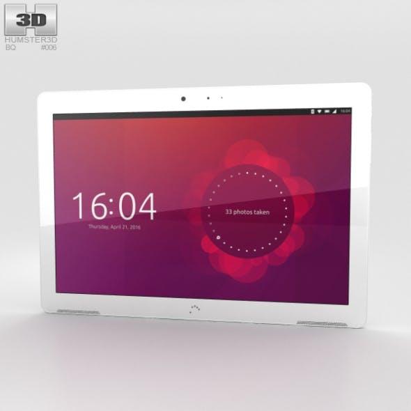 BQ Aquaris M10 White - 3DOcean Item for Sale