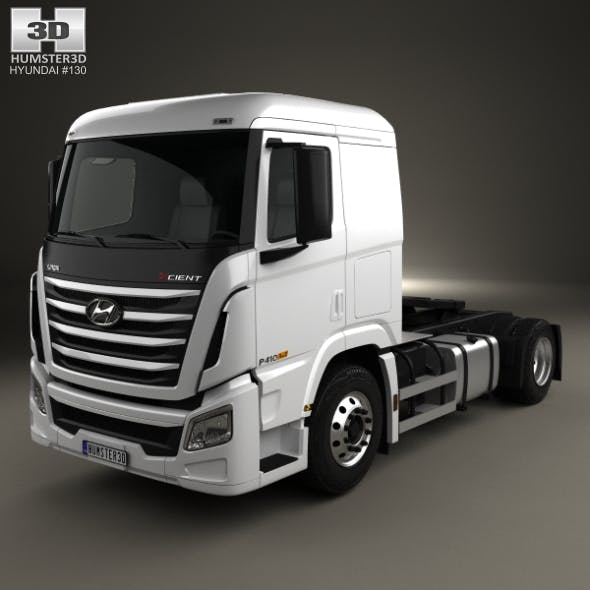 Hyundai Xcient P410 Tractor Truck 2013 - 3DOcean Item for Sale
