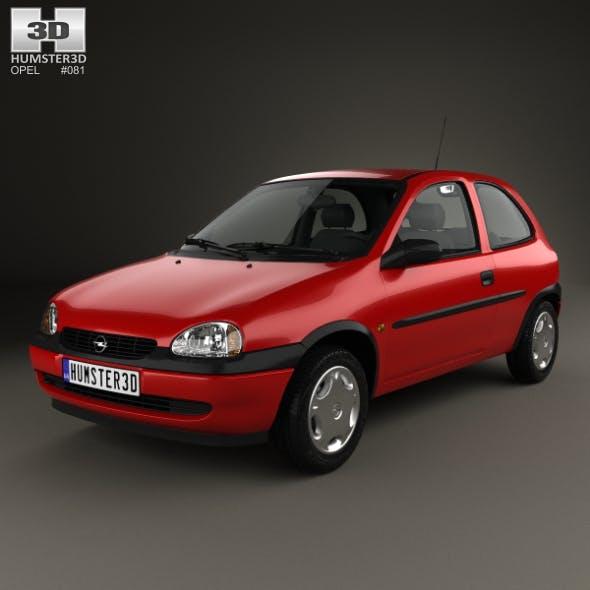 Opel Corsa (B) 3-door hatchback 1998 - 3DOcean Item for Sale
