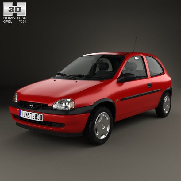 Opel Corsa (B) 3-door hatchback 1998