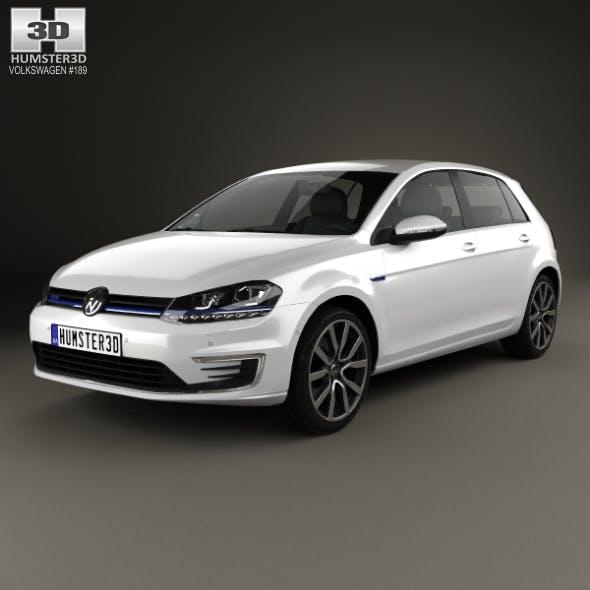 Volkswagen Golf GTE 2015 - 3DOcean Item for Sale
