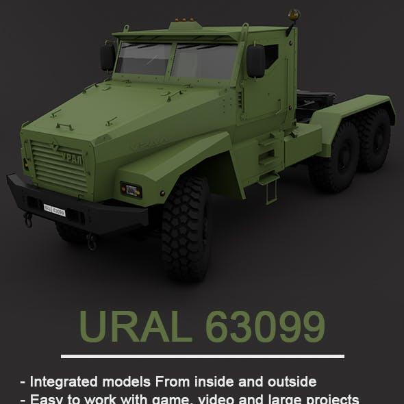 UraL 63099 Full 3D Model