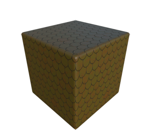 Roof Shingle Fish Scale - 3DOcean Item for Sale