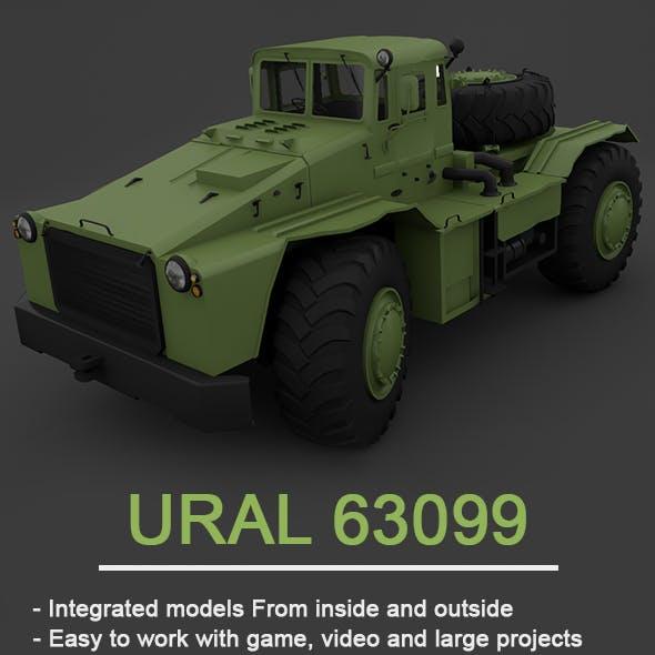 MAZ-538 - Full 3D Model