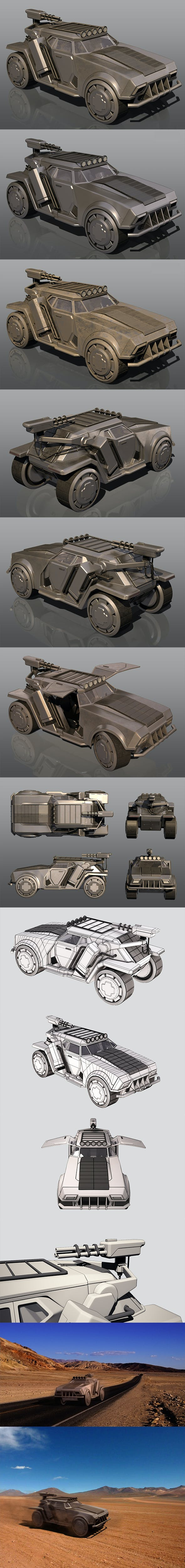 Si-fi SUV - 3DOcean Item for Sale