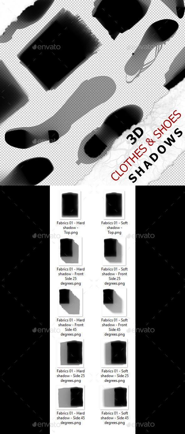 3D Shadow - Fabrics 01 - 3DOcean Item for Sale