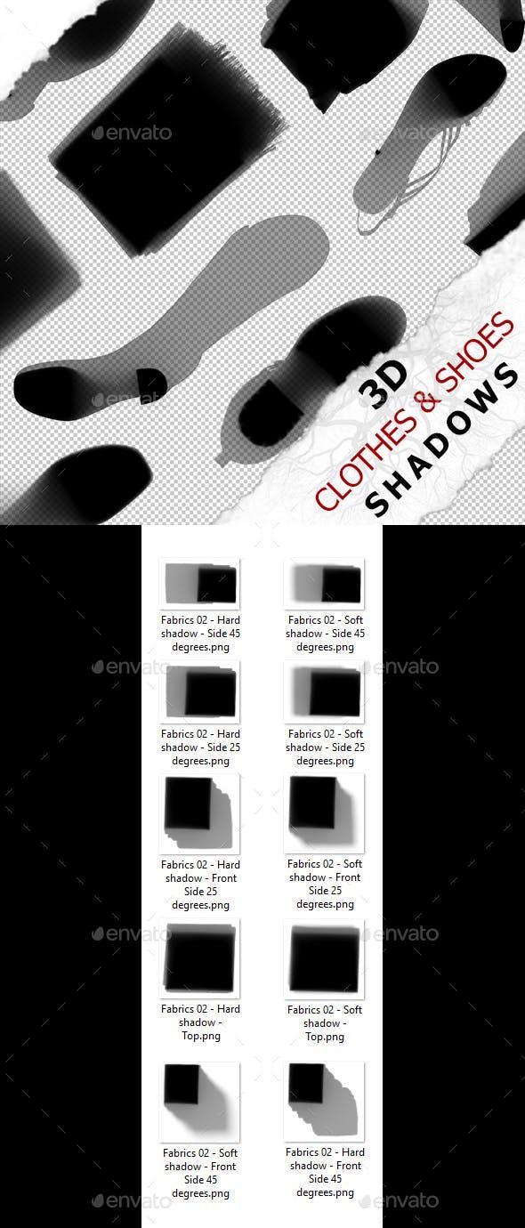 3D Shadow - Fabrics 02 - 3DOcean Item for Sale