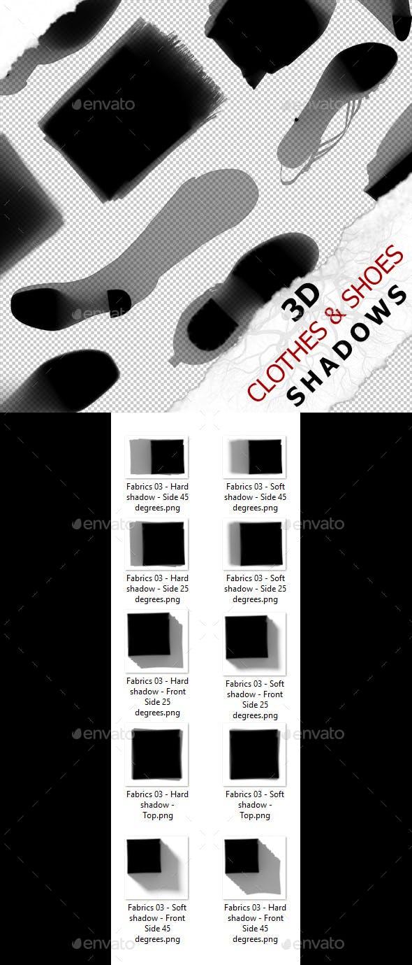 3D Shadow - Fabrics 03 - 3DOcean Item for Sale