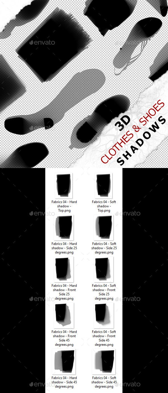 3D Shadow - Fabrics 04 - 3DOcean Item for Sale
