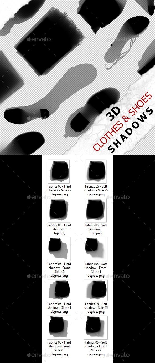 3D Shadow - Fabrics 05 - 3DOcean Item for Sale