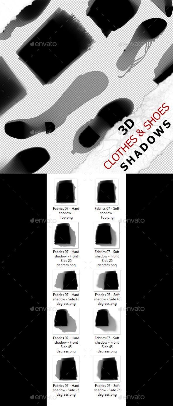 3D Shadow - Fabrics 07 - 3DOcean Item for Sale