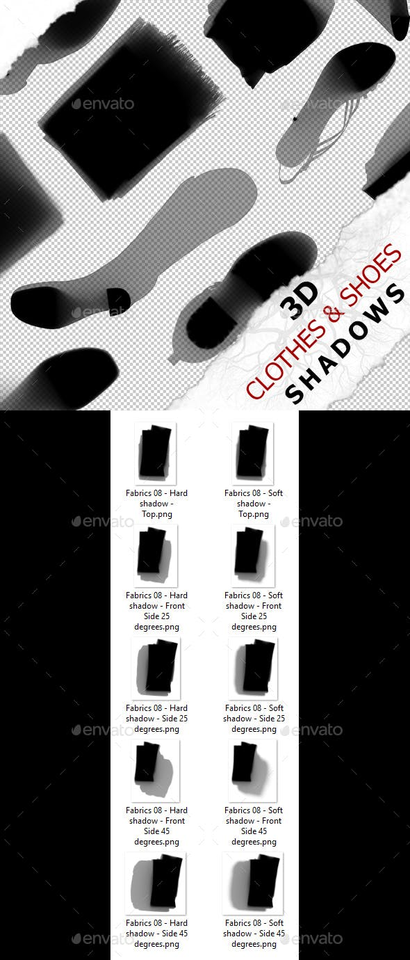 3D Shadow - Fabrics 08 - 3DOcean Item for Sale