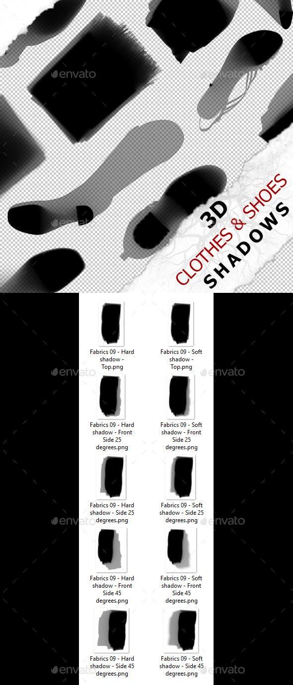 3D Shadow - Fabrics 09 - 3DOcean Item for Sale