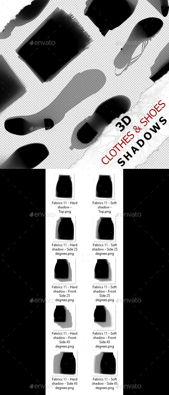 3D Shadow - Fabrics 11 - 3DOcean Item for Sale