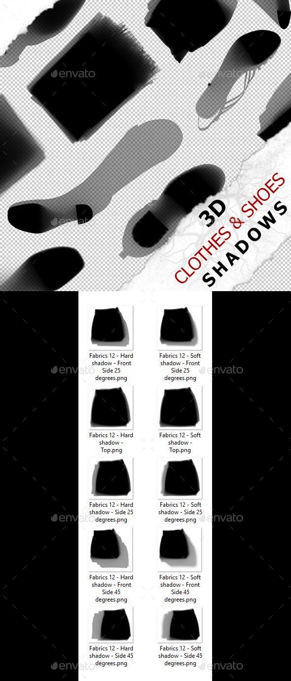 3D Shadow - Fabrics 12 - 3DOcean Item for Sale