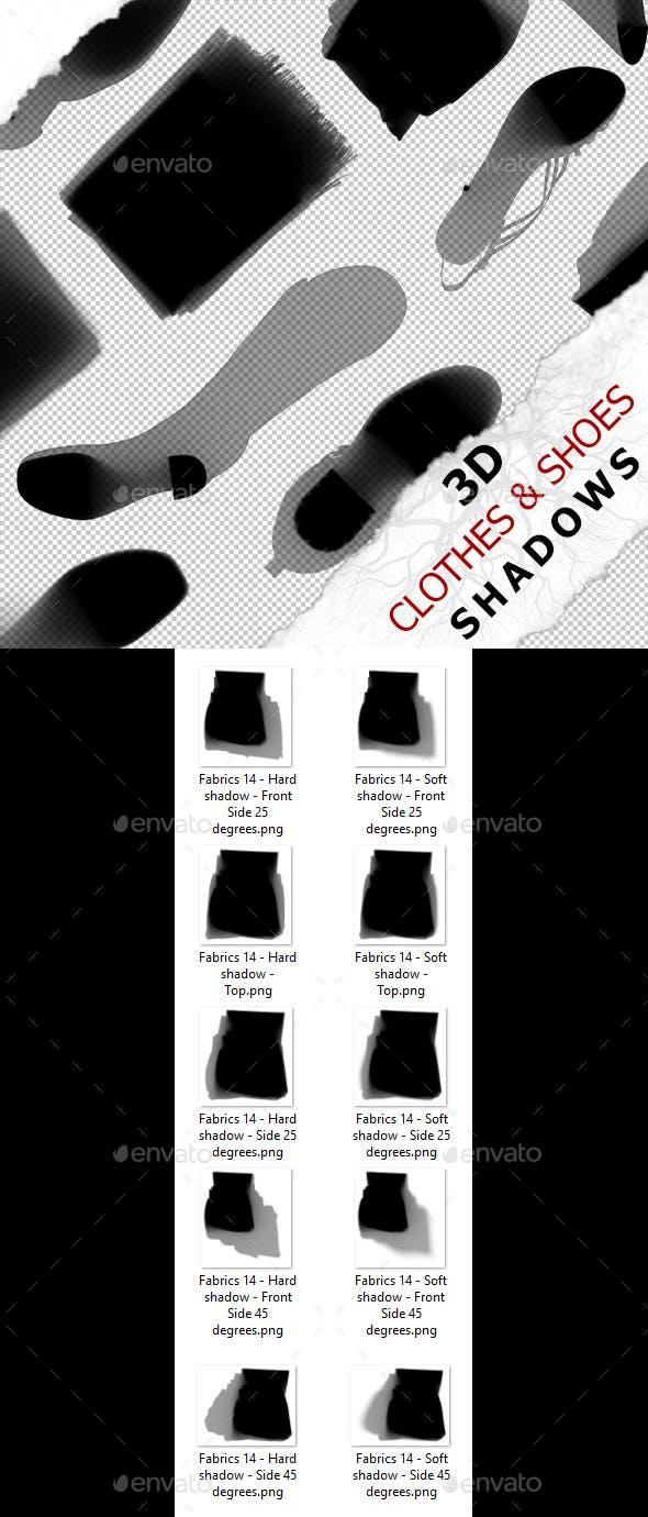 3D Shadow - Fabrics 14 - 3DOcean Item for Sale