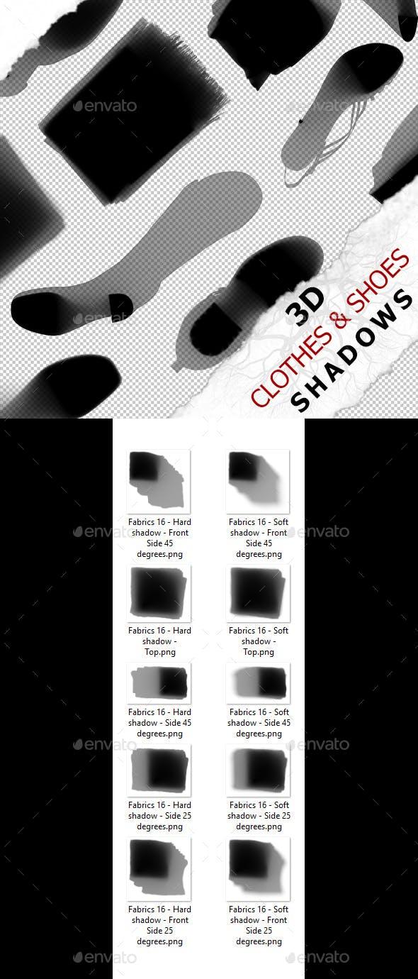 Flat shadow - Fabrics 16 - 3DOcean Item for Sale