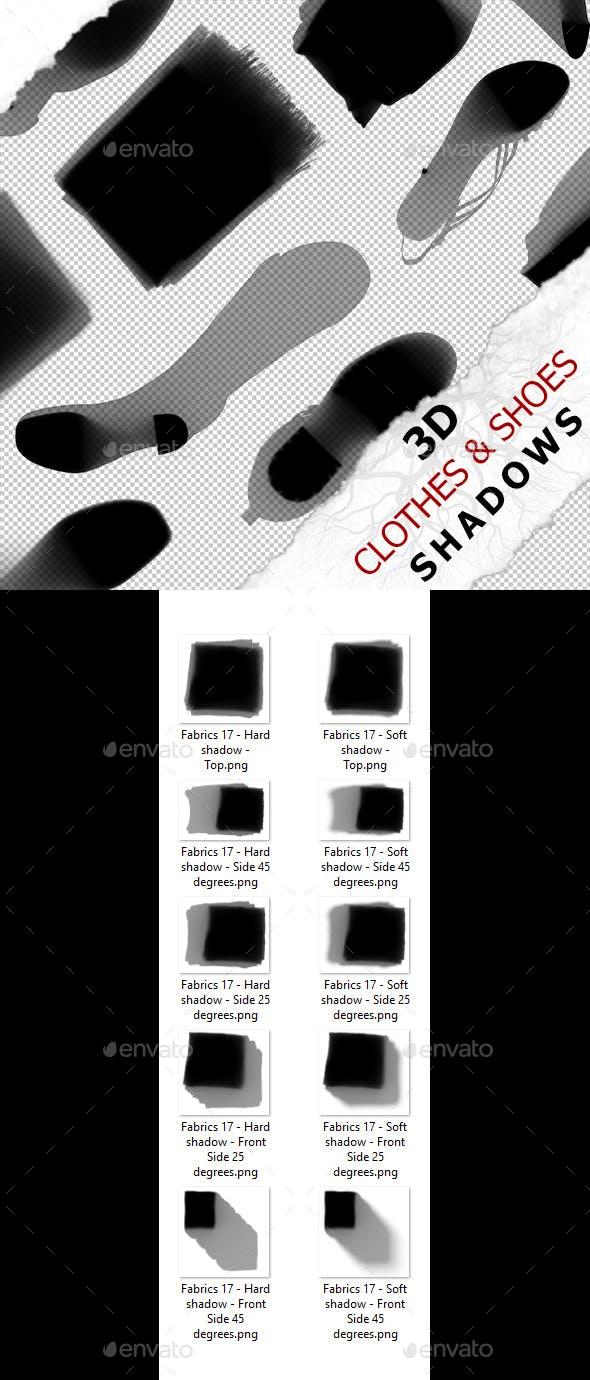 3D Shadow - Fabrics 17 - 3DOcean Item for Sale