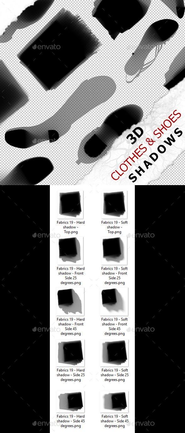 3D Shadow - Fabrics 19 - 3DOcean Item for Sale