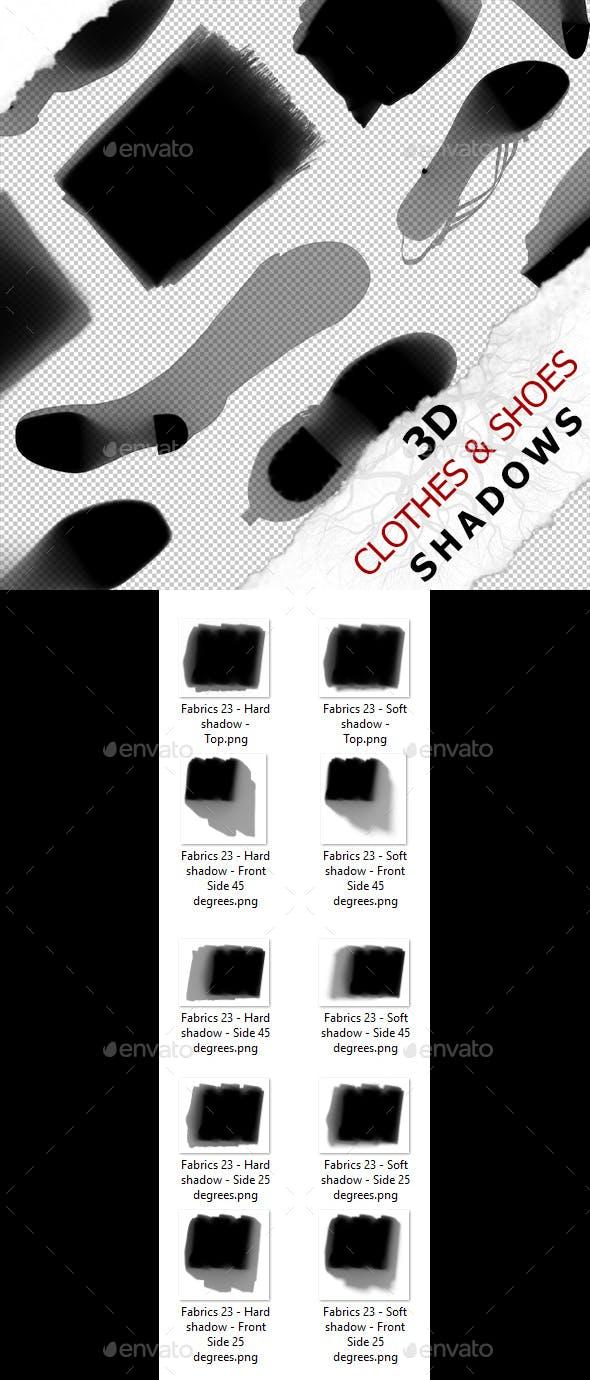 3D Shadow - Fabrics 23 - 3DOcean Item for Sale