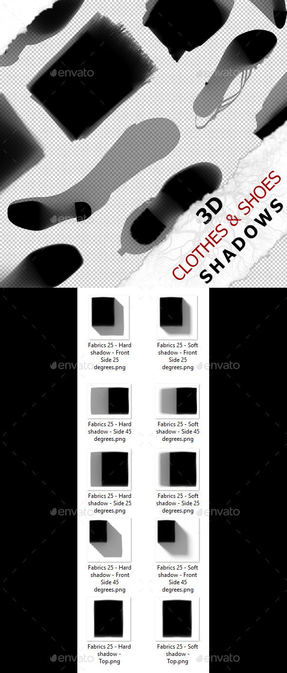 3D Shadow - Fabrics 25 - 3DOcean Item for Sale