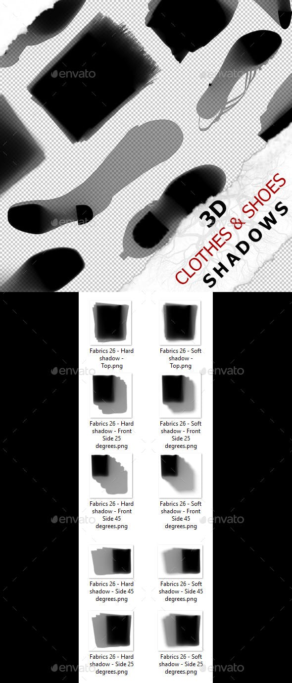 3D Shadow - Fabrics 26 - 3DOcean Item for Sale
