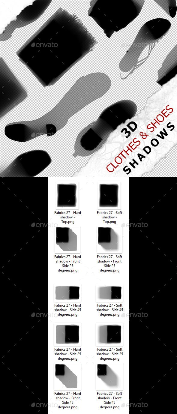 3D Shadow - Fabrics 27 - 3DOcean Item for Sale