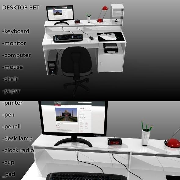 Desktop Set