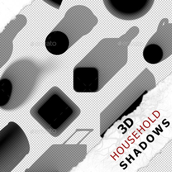 3D Shadow - Fridge 01