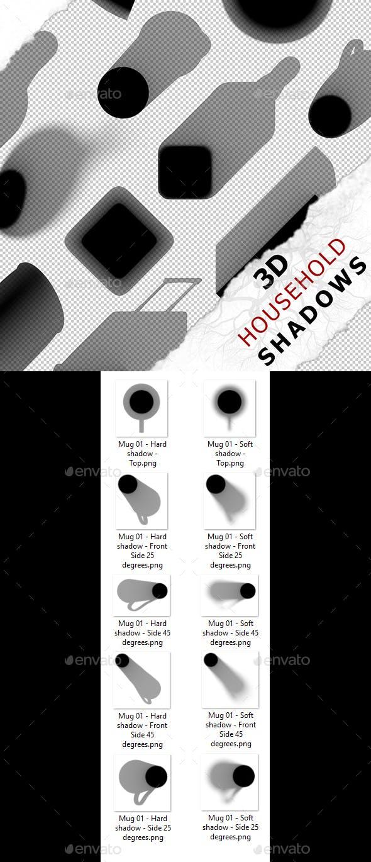 3D Shadow - Mug 01 - 3DOcean Item for Sale