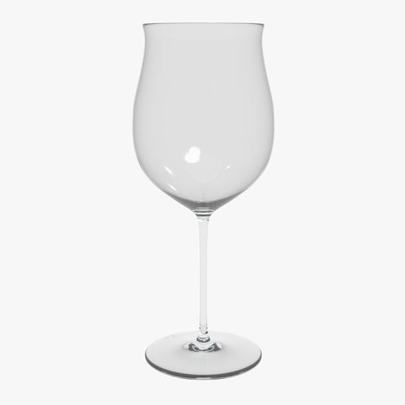 Glass Riedel Superleggero Burgundy Grand Cru - 3DOcean Item for Sale