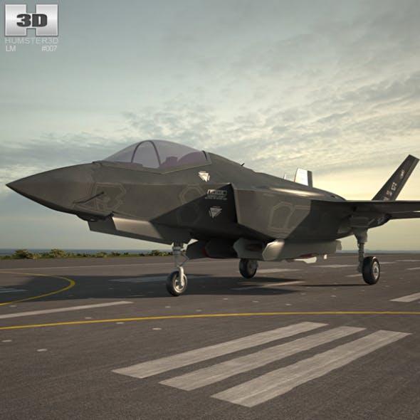 Lockheed Martin F-35 Lightning II - 3DOcean Item for Sale
